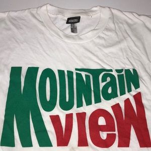 Jess3 Rare Mountain View Ringer American Apparel T